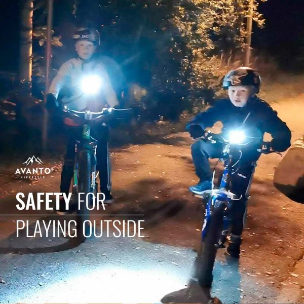 Avanto Lifestyle® Chest Light increases safety when playing outside in the dark