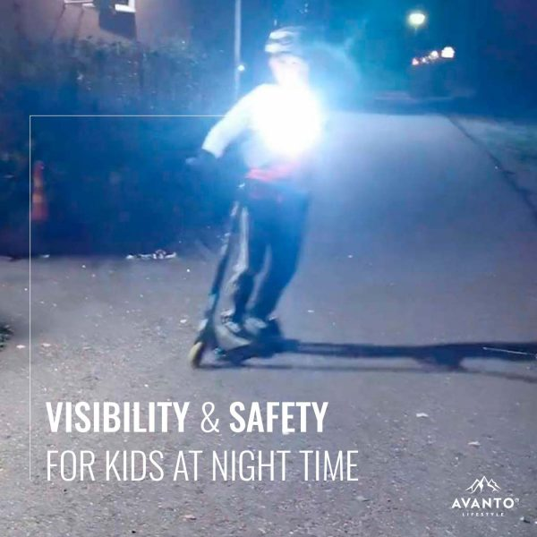 Avanto Lifestyle® Chest Light gives visibility and safety for kids at nighttime