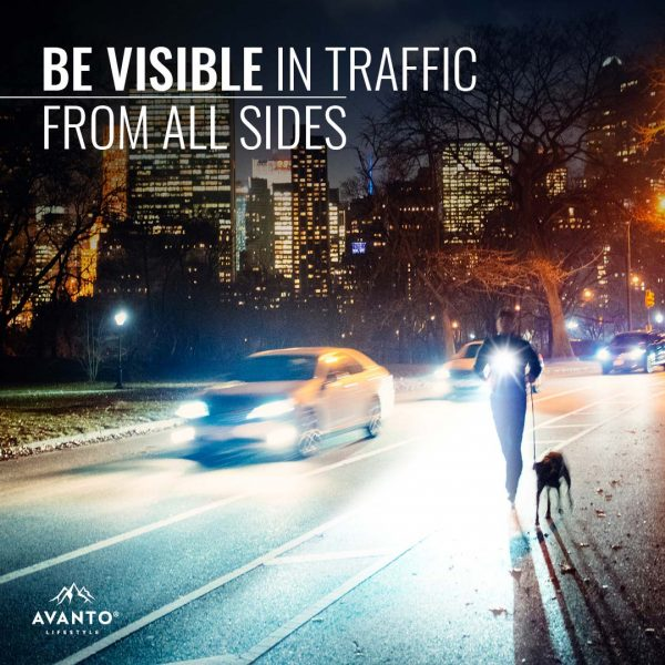 Chest light – be visible in traffic