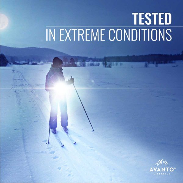 Clip-on Light Pro has been tested in extreme conditions