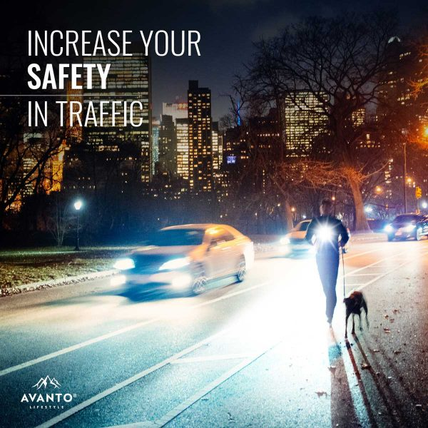 Clip-on Light Pro - Increase your safety in traffic